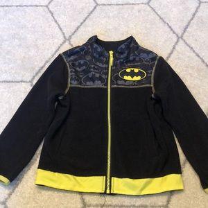 Batman Fleece Zip Jacket Size 6